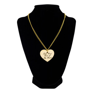 Take Good Care of My Heart Necklace