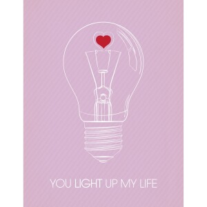 Light Up My Life Card