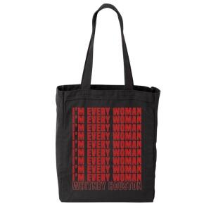 Whitney Houston I'm Every Woman Tote Bag