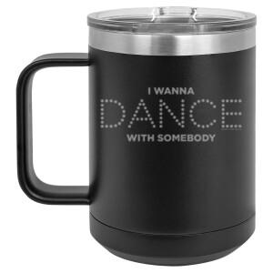 Dance Lights Polar Camel Travel Mug