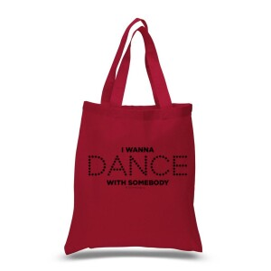 Dance Lights Red Tote Bag