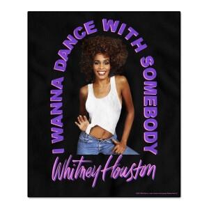 Whitney Houston I Wanna Dance With Somebody Throw Blanket
