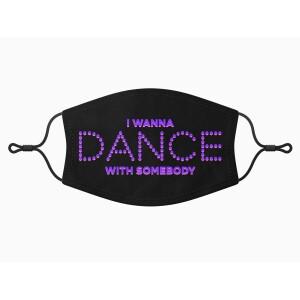 Whitney Houston I Wanna Dance With Somebody Face Mask