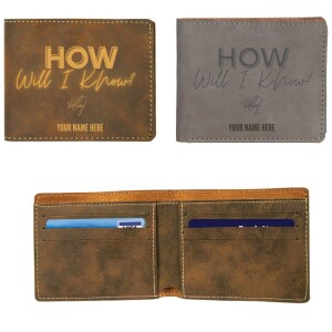 How Will I Know Vegan Leather Wallet