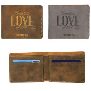 Greatest Love Vegan Leather Wallet
