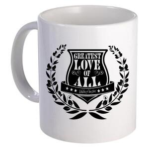 Greatest Love Crest Ceramic Mug