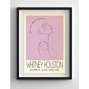 Whitney Live in France, 1993 Print