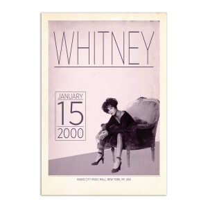 Whitney Live at Radio City, 2000 Print