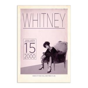 Whitney Live at Radio City, 2000 Print