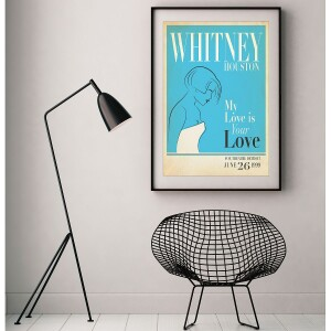 Whitney Live in Detroit, 1999 Print