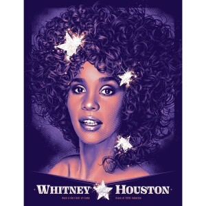 Whitney Houston Hall of Fame Poster (Main Edition)