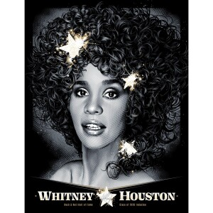 Whitney Houston Hall of Fame Poster (Variant Edition)
