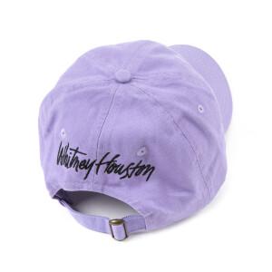 Lavender Lion Embroidered Dad Hat