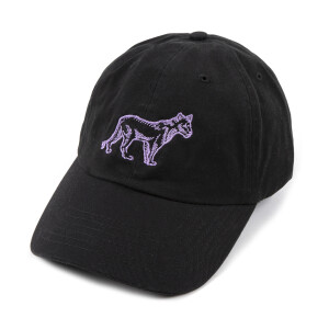 Black Lion Embroidered Dad Hat