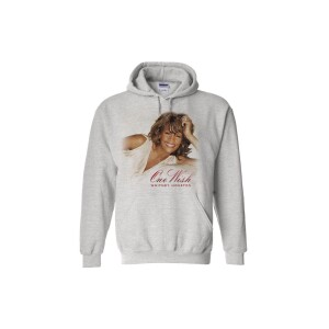 Whitney Houston One Wish Grey Hoodie