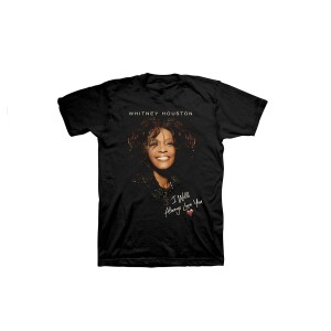 Whitney Houston I Will Always Love You T-Shirt