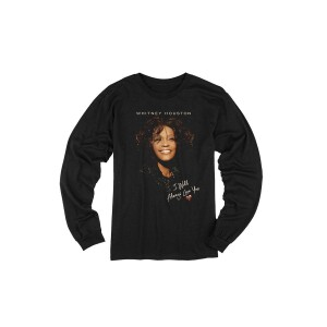 Whitney Houston I Will Always Love You Longsleeve T-Shirt