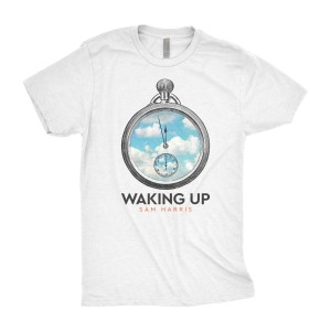 Waking Up Watch Unisex T-Shirt [Heather White]