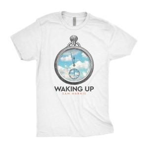 Waking Up Watch Unisex T-Shirt [Heather White]