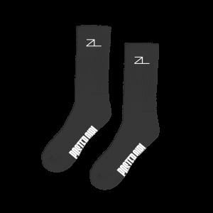 Poster Girl Black Socks