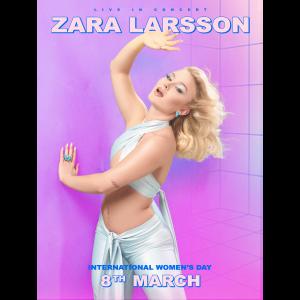 Zara Larsson International Women's Day Poster