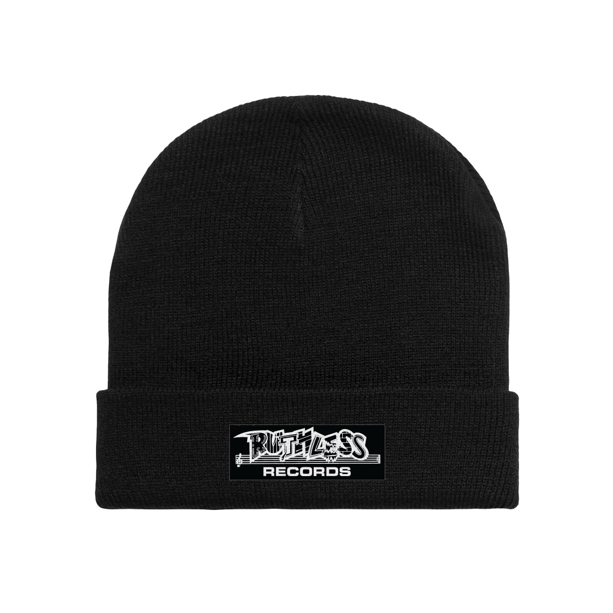 Ruthless Records Black Beanie
