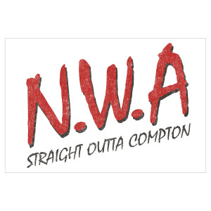 N.W.A Straight Outta Compton 11x17 Poster