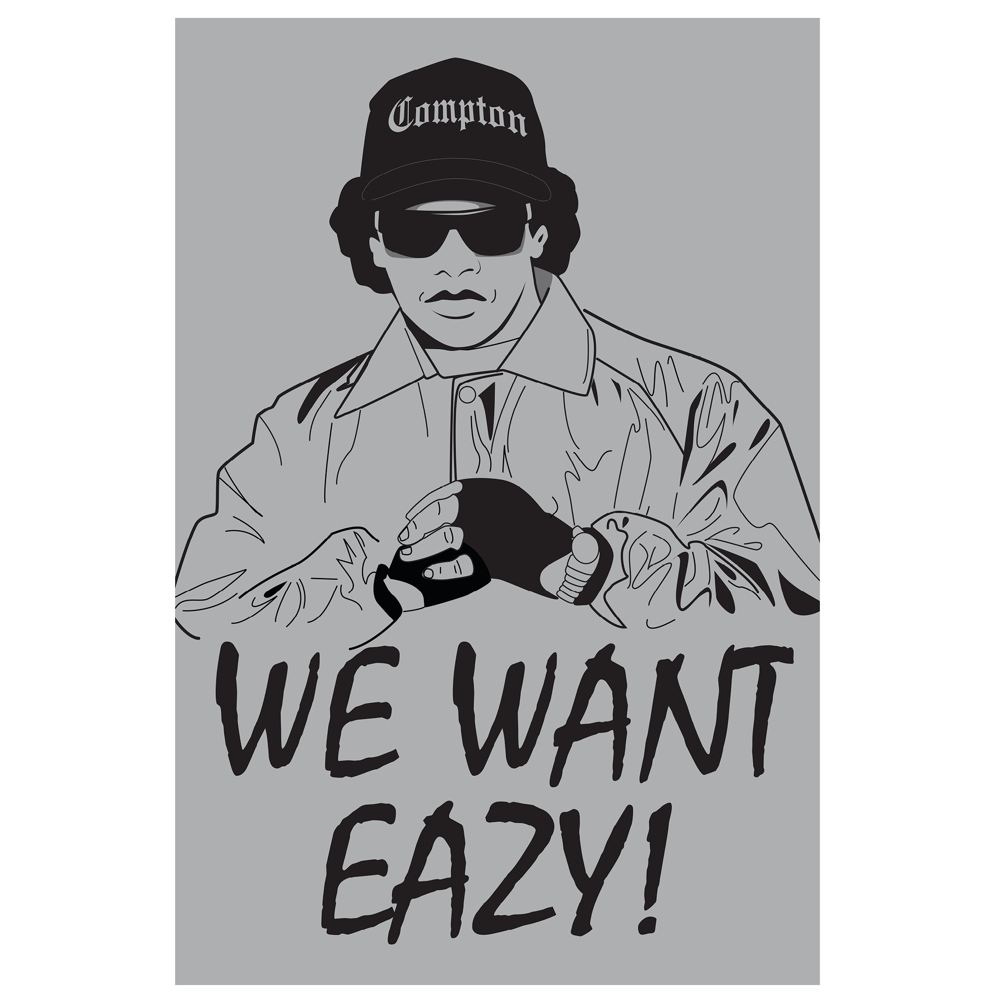 We Want Eazy 11x17 Poster