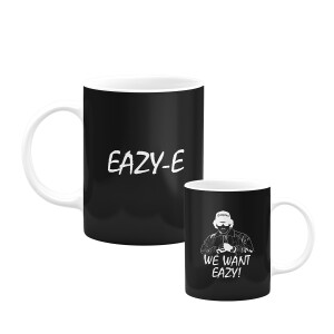 We Want Eazy 11 oz. Black mug
