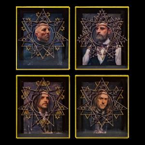 Tool Enamel Pin Pack - Full Portraits