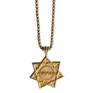 Tool Logo - Gold Necklace