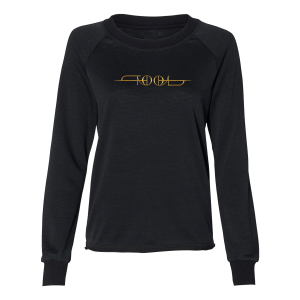 Tool Logo Women's Wide Neck Premium Sweatshirt
