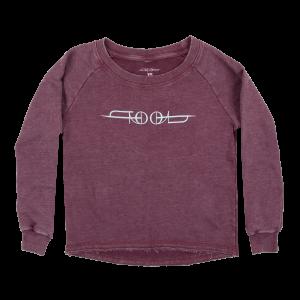 Tool Logo Women's Wide Neck Premium Sweatshirt