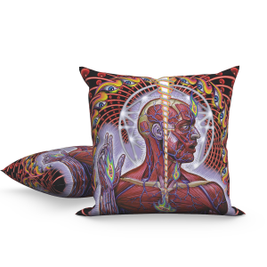 Lateralus Skinless Man Pillow