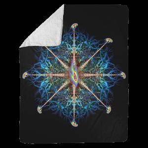 Lateralus Nerve Endings Sherpa Blanket