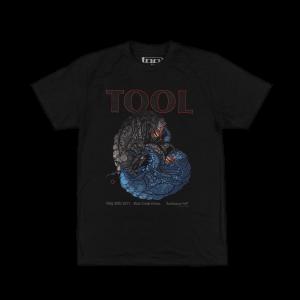 Tool - 2017 Tour Shirt Rochester, NY (5/30/2017)