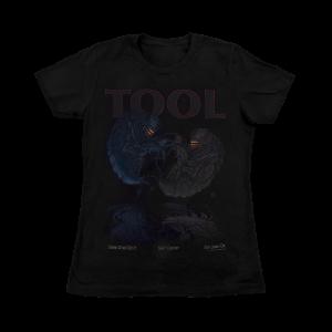 Tool Women's San Jose, CA 2017 Tour Shirt