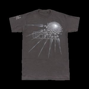 Tool Phurba (Charcoal) T-Shirt