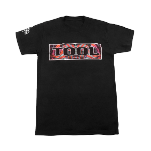 Tool Red Bardo Logo T-Shirt