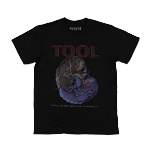 Tool Men's San Antonio, TX 2016 Tour T-Shirt