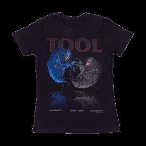 Tool Womens Sacramento, CA 2017 Tour T-Shirt