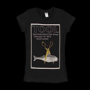 Tool Women's East Rutherford, NJ 2012 Tour T-Shirt
