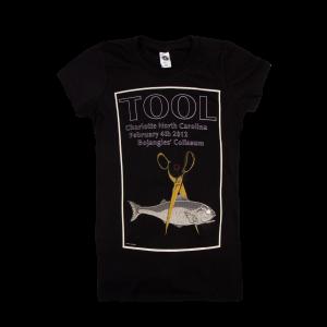 Tool Womens Charlotte 2012 Tour T-Shirt