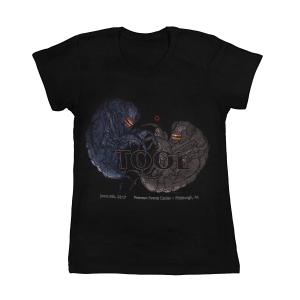 Tool Womens Pittsburgh, PA 2017 Tour T-Shirt