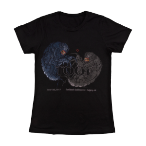 Tool Womens Calgary, AB 2017 Tour T-Shirt