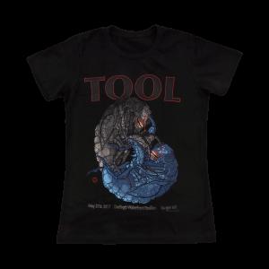 Tool Womens Bangor, ME 2017 Tour T-Shirt