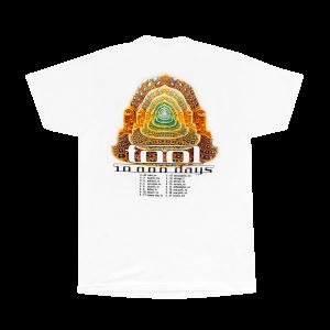 Tool 10000 Days White T-Shirt