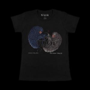 Tool Womens  Tour T-Shirt 1/16/16 BOK Center Tulsa , OK