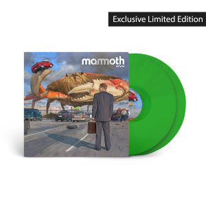 Mammoth WVH: Orange Vinyl/2X LP DOUBLE GATEFOLD WITH INNER SLEEVES