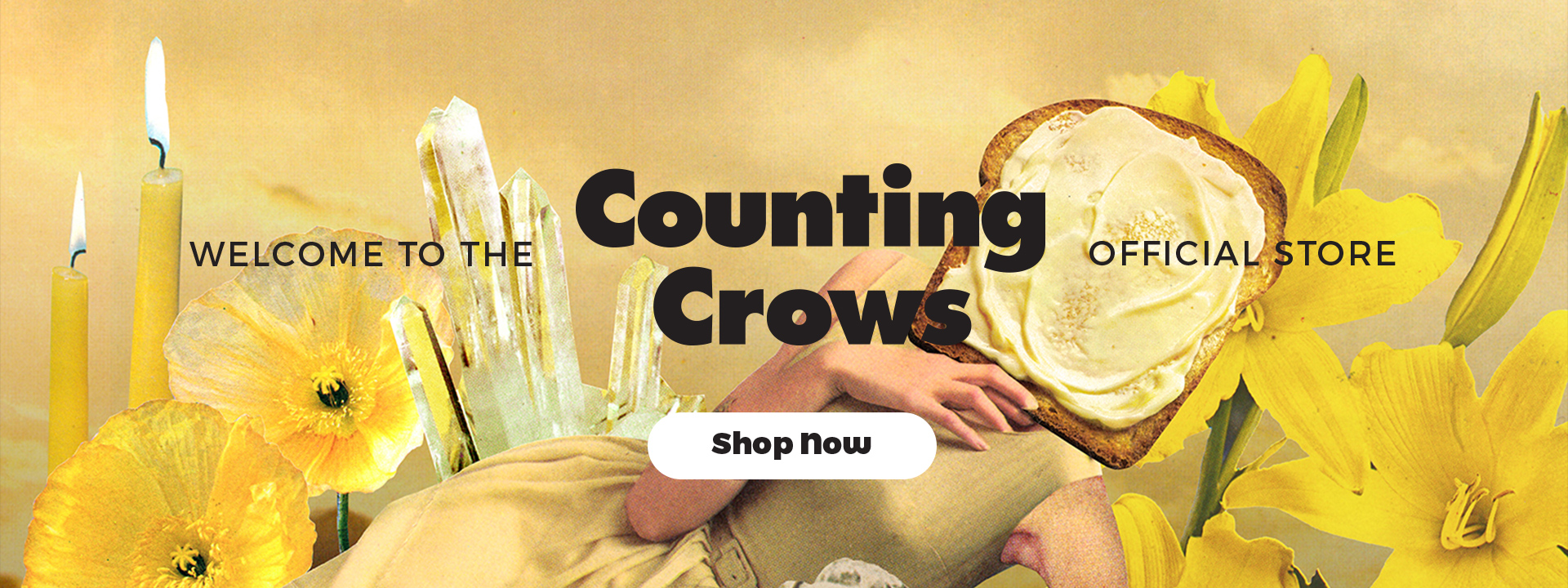 Welcome to the Counting Crows official store. Shop now!
